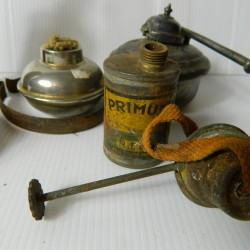 Oil lamp selection