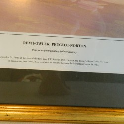 REM Fowler Peugeot-Norton by Peter Heresey