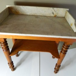 Marble topped table from France
