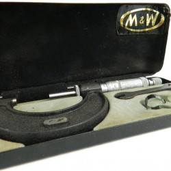 Moore and Wright 1 to 2 inch micrometer