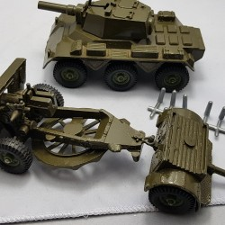 Saladin Armoured Patrol. A Crescent Toy. No2154