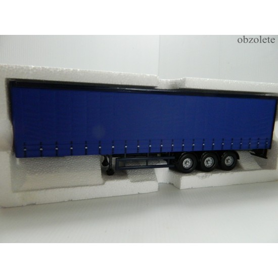 Corgi Blue Curtainsider trailer CC19901