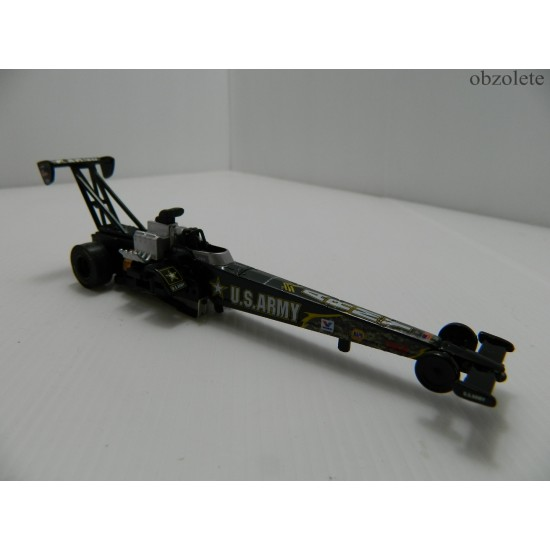 Auto World 4 gear Top fuel Dragster US Army 35