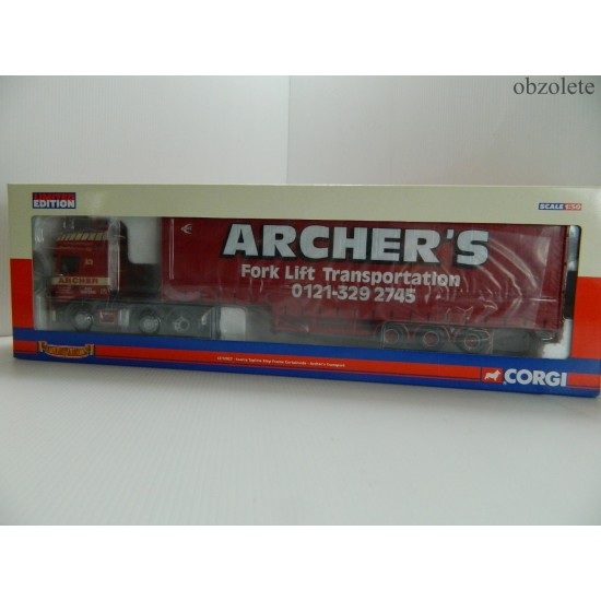 Corgi Archers Fork Lift Transport Scania CC12927