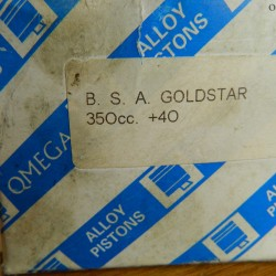 BSA Goldstar 350cc Piston